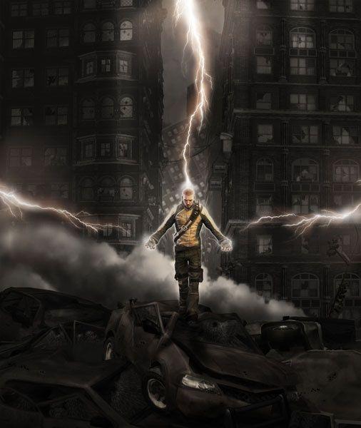 Power - inFamous Concept Art