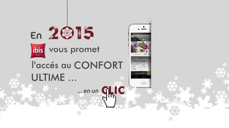 Voeux 2015 de l'hôtel Ibis quimper http://www.ibis.com/fr/hotel-0637-ibis-quimper/index.shtml