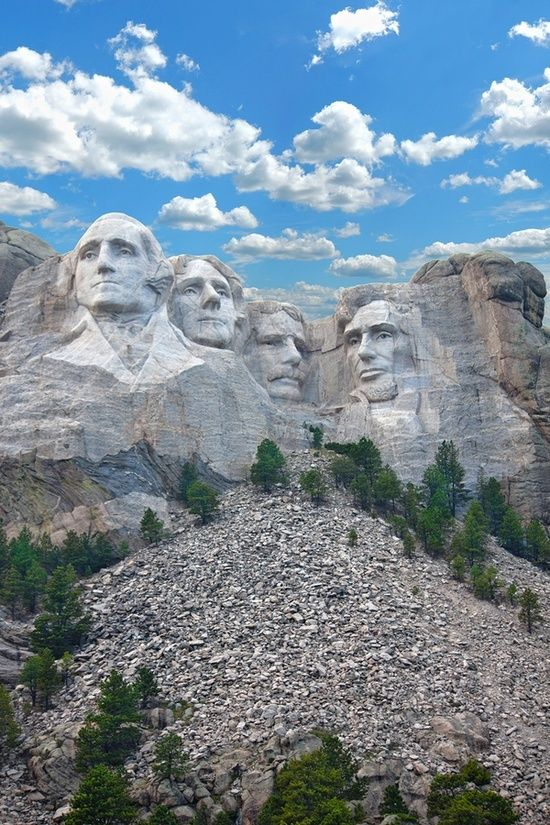 Mt. Rushmore. Funny how I used to get tired of going here when I was younger but now I'd love take my hubs.