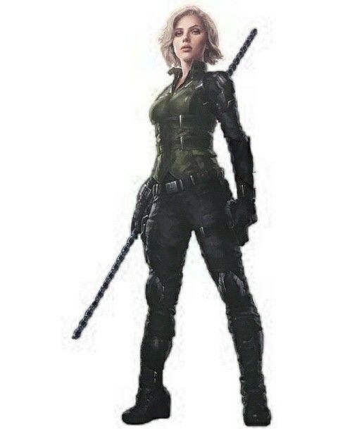 Black Widow Infiniti War