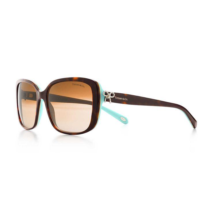 Tiffany Twist:Square Bow Sunglasses