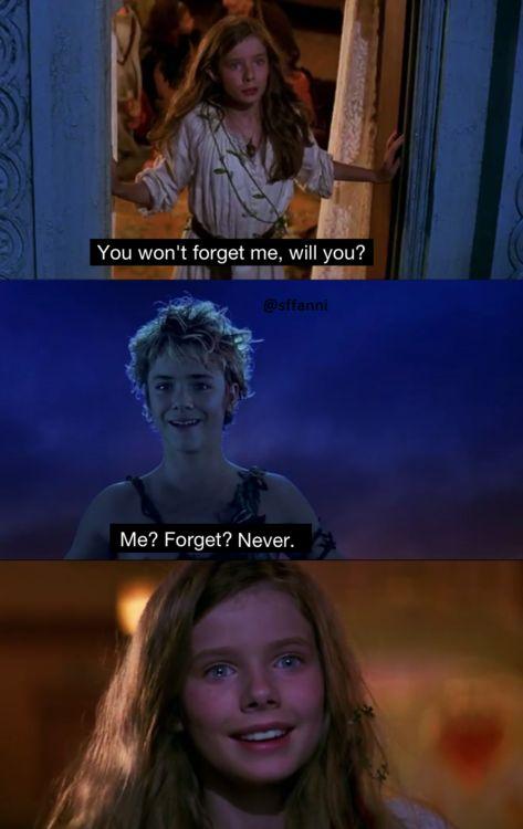 Peter Pan . i cried 0_0