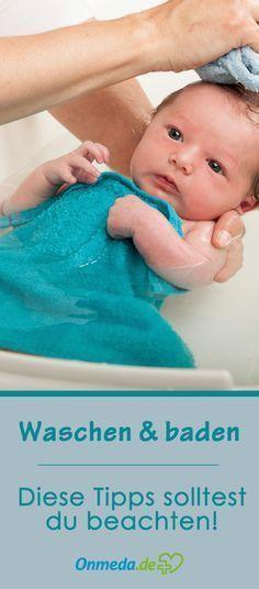 So badest du dein Baby richtig!