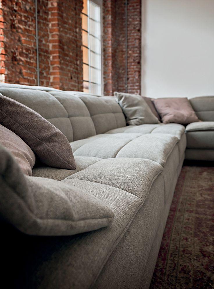 Die besten 25+ Sofa italia Ideen auf Pinterest B \ b italia - designer couch modelle komfort