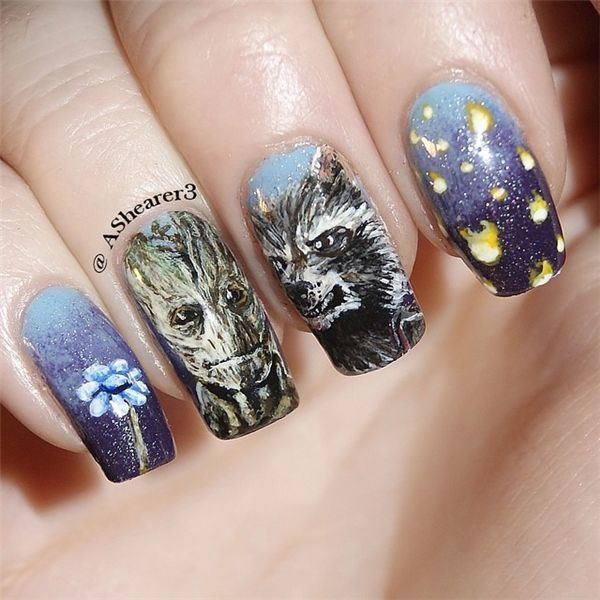104 best Movies & series nail art images on Pinterest ...