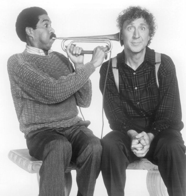 """Richard Pryor and Gene Wilder from """"See No Evil, Hear No Evil"""""""