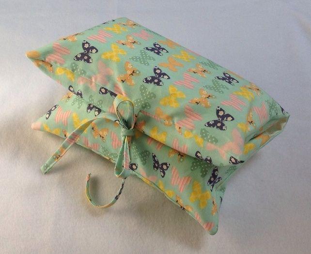 Butterflies Nappy & Wipes Case £7.50