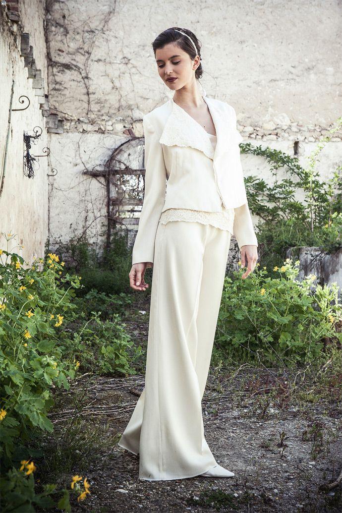 Elsa Gary - Robes de mariée | Modèle: Bowie | Crédits: Elsa Gary | Donne-moi ta main - Blog mariage