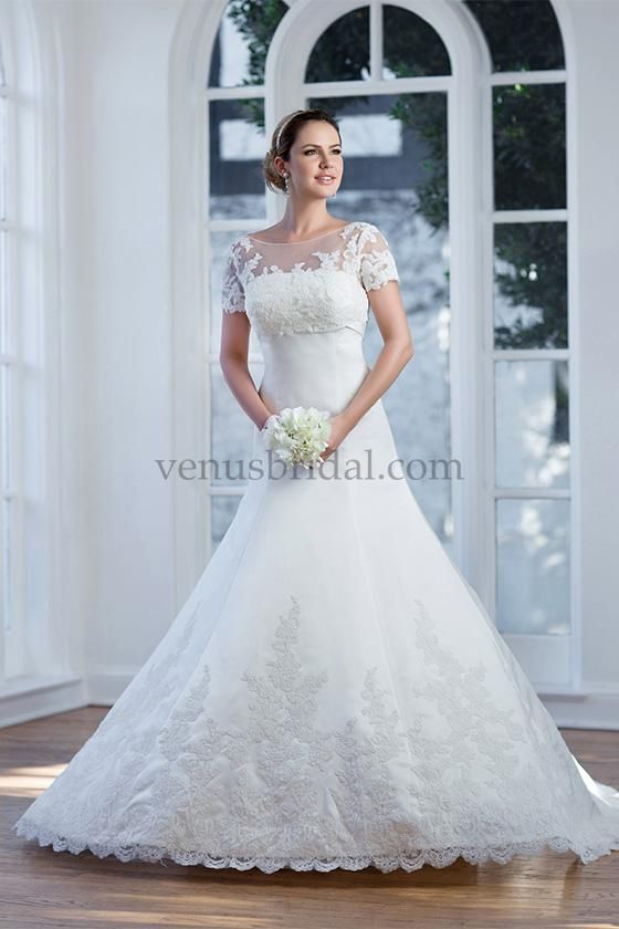 10 best Venus Bridal images on Pinterest | Wedding frocks, Short ...