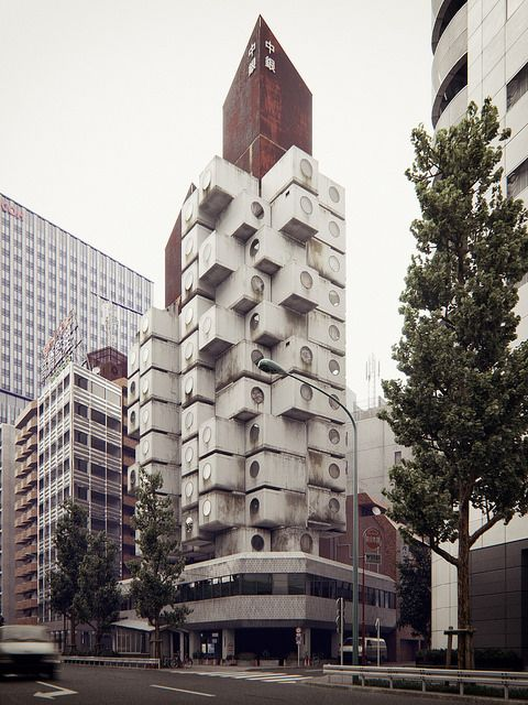 Nakagin Capsule Tower | por BBB3viz