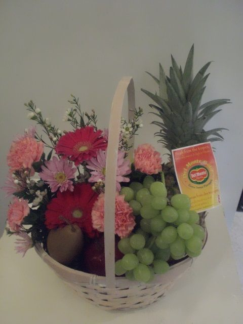 http://www.unny.com  flowers and fruit basket