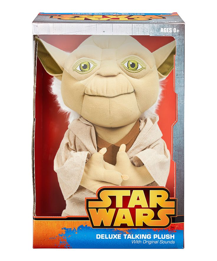 15'' Star Wars Talking Yoda Plush