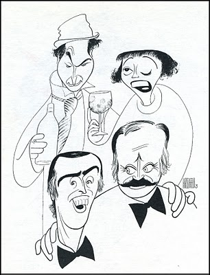 Sid Caesar, Imogine Coca, Dan Rowan, Dick Martin