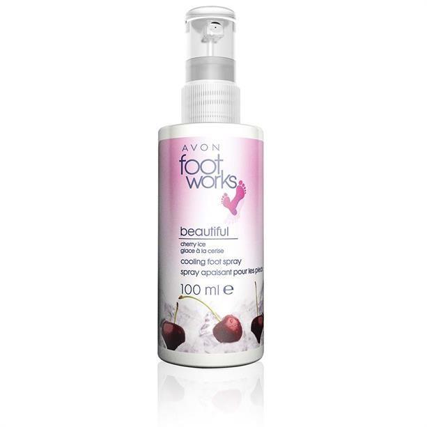 Cseresznyés hűsítő lábspray - AVON termékek