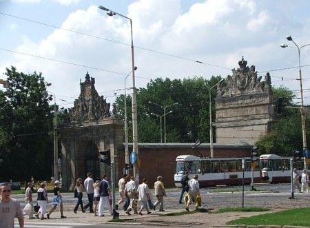 Szczecin. Brama Portowa
