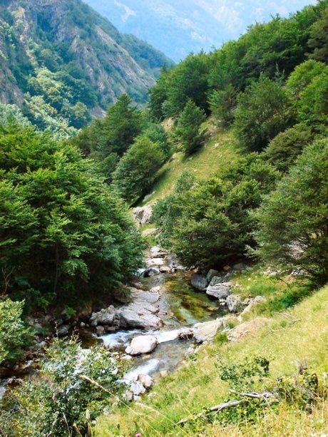Creek on trail, S. Giacomo di Entracque #mountains  #piemonte #italy  #provinciadicuneo