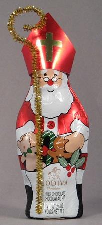 Chocolate Santa into St Nicholas