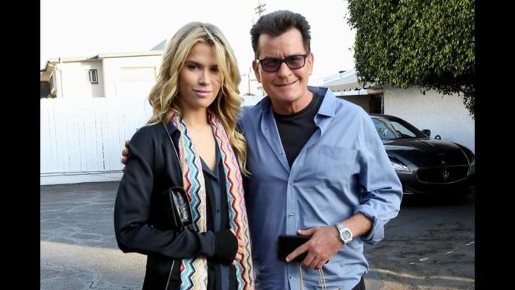 Charlie Sheen's New Girlfriend Not Scared of HIV #Entertainment #News