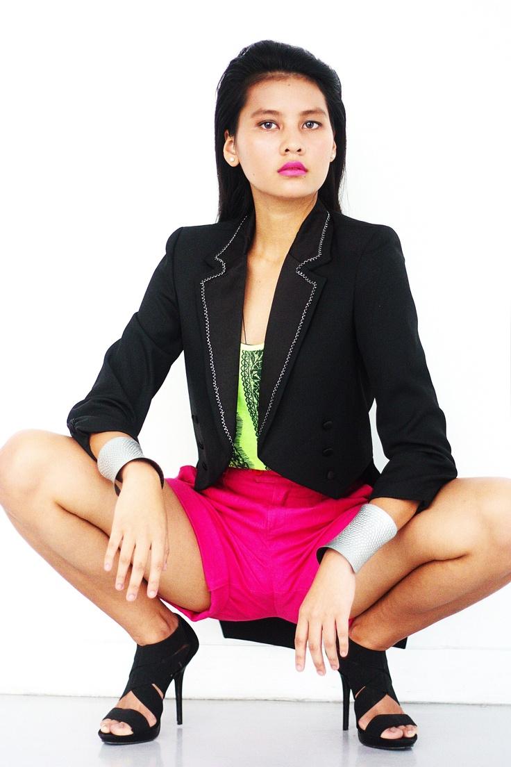 Photographer: PJ Almera  Model: Carllyn Bacila  H/MUA: Donna Luy  Styling: Moses Fetalvero