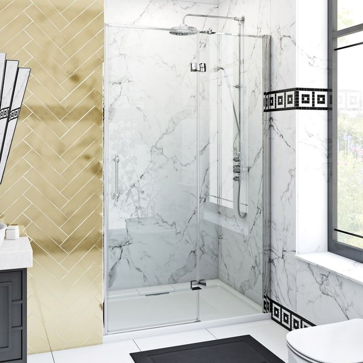 The Bath Co Beaumont Traditional 8mm Hinged Shower Door Shower Doors Bathtub Doors Bathtub Remodel