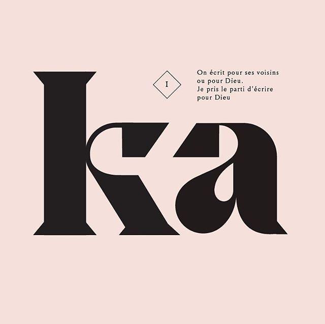 New black serif by violaineetjeremy #sartre #lesmots #typography #font #typeverything #typespot #typegang #typeface #typefaces #font #fonts #letter #letters #fontfamily #type #typedesign #typeinspiration #fontsinuse #serif #cutomtype #schriften #schriftarten