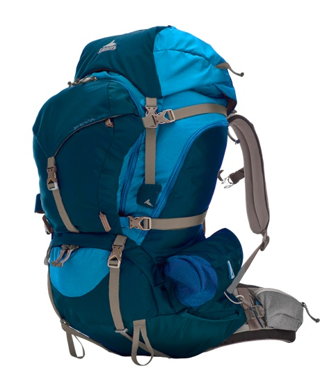 This women's Gregory backpack is a great bag for mid-long trekking. Easy to organize and cut for a woman's body. Mine has been to a ton of #nationalparks! Deva™ 60 - Gregory Packs - Products - Women's - Technical