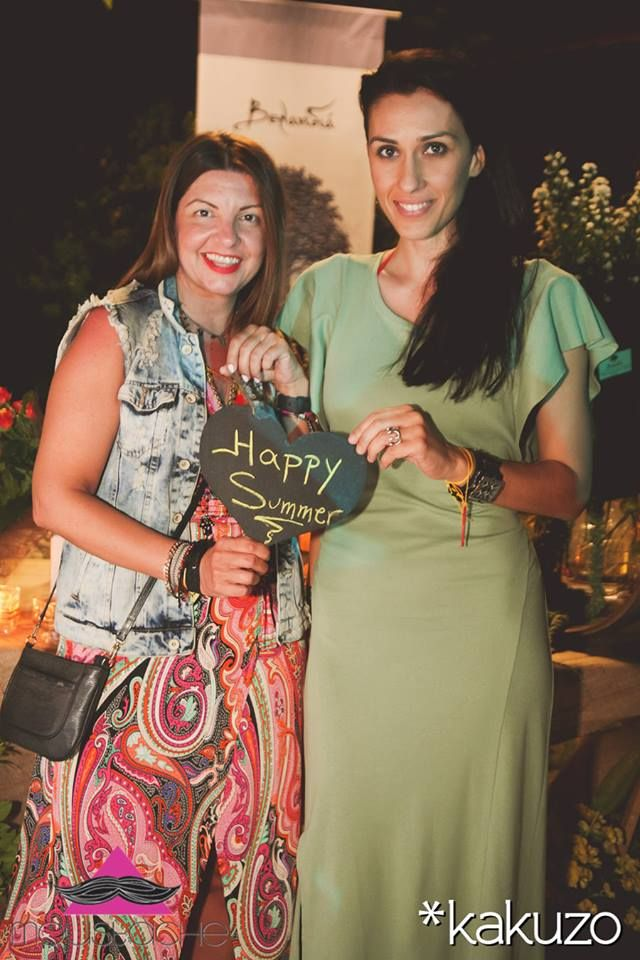 me #avgi #metaxa and #elena #chalati