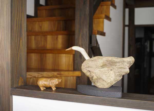 2016-流木の鳥ー2  ★  #流木の鳥 #流木オブジェ #流木 #流木アート #屋久島アート #インテリア #Driftwood Art #Interior