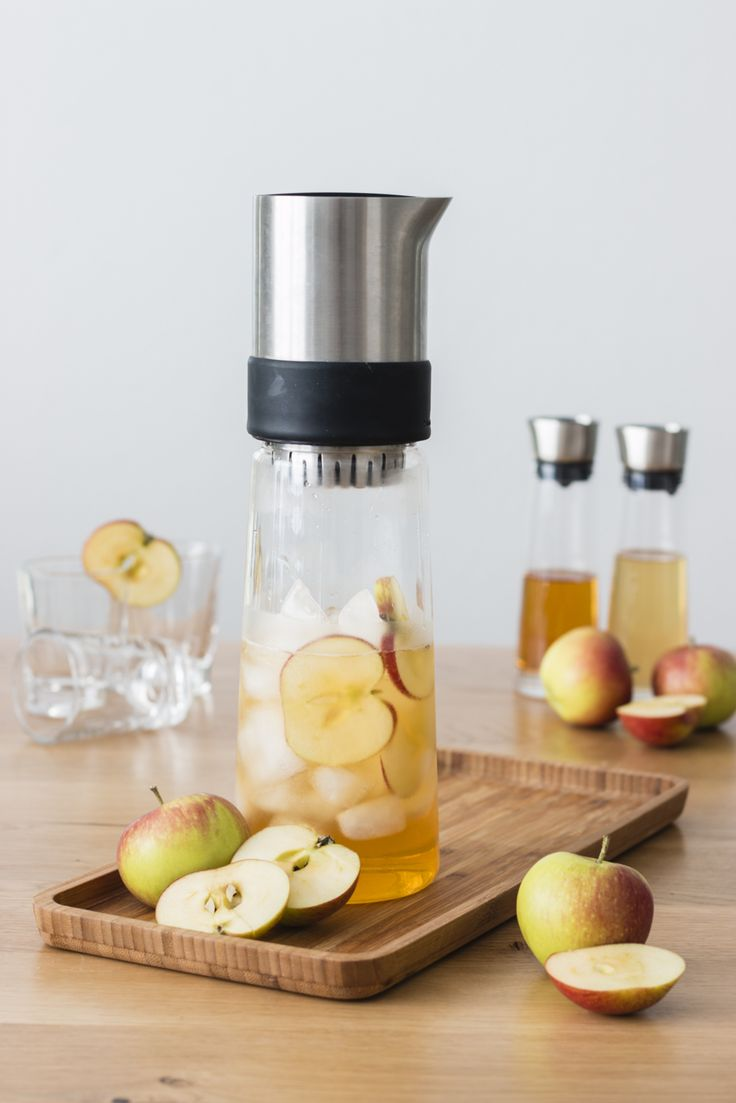 Apple Vinegar Elderflower Tea - Eistee mit Apfelessig / Backbube - Foodblog