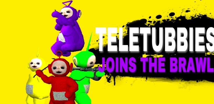 Teletubies joins the battle