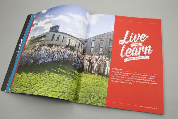Royal Veterinary College - Undergraduate Prospectus on Behance