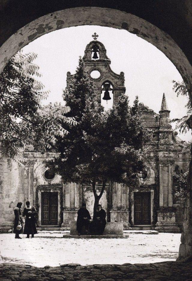 Arkadi Monastery Crete, Nelly's - 1927