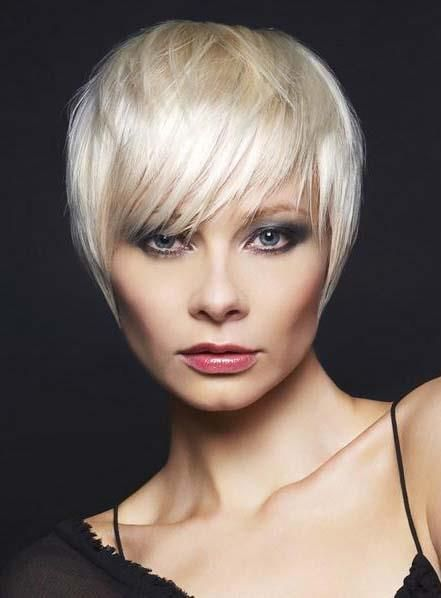 New Arrival Short Straight Capless Gray Synthetic Wig