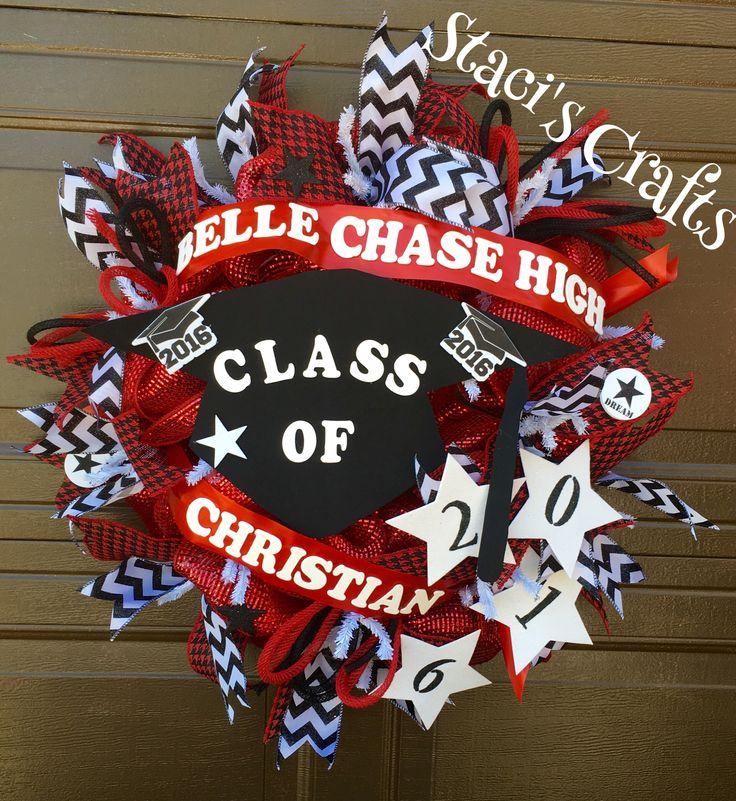 Belle Chase High School Graduation  Wreath