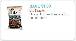 Super RARE $1/1 UTZ Pretzels Coupon! - http://couponingforfreebies.com/super-rare-11-utz-pretzels-coupon/