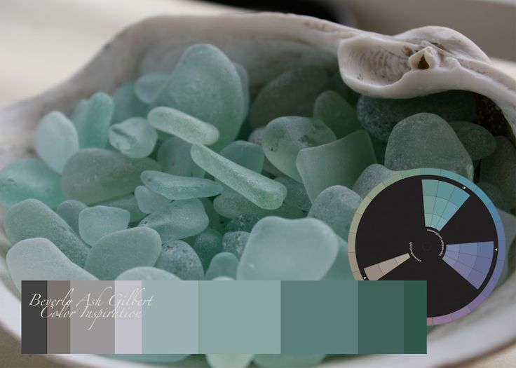 Beverly Ash Gilbert Color Inspiration Sea Glass In Sea