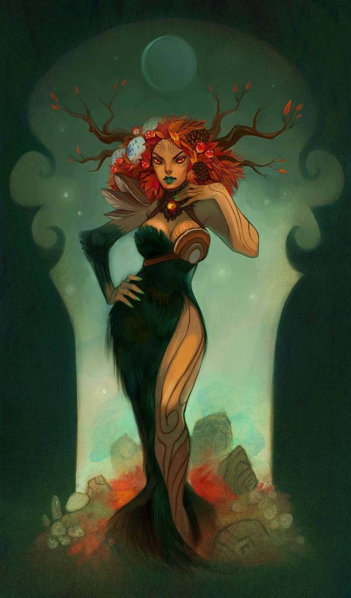 Autumn Wood Nymph - Kindra T Haugen
