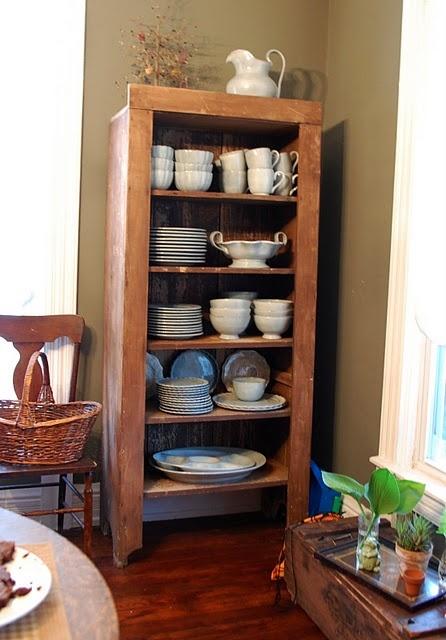 storage for dinnerware