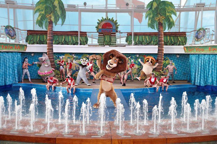 Los divertidos personajes de Madagascar