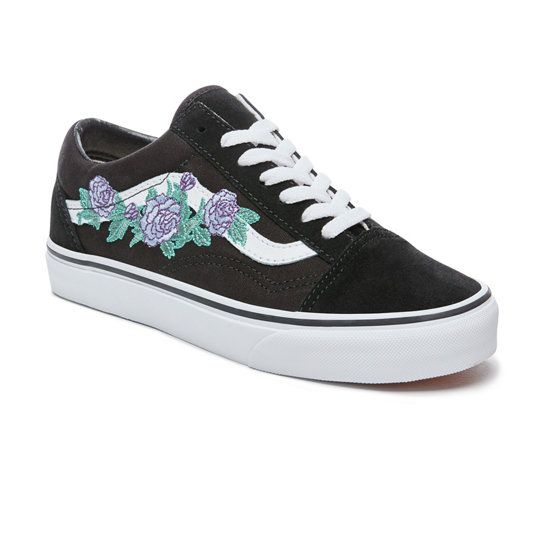old skool rose thorn vans