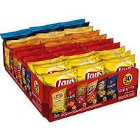 LARGER SIZE BAGS, STILL GOOD FLAVOR VARIETY FOR BACKYARD CARNIVAL:  Frito Lay® Big Grab® Variety Pack - Sam's Club