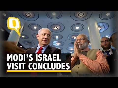 Daily News : Highlights From PM Narendra Modi's 'Historic' Isra...