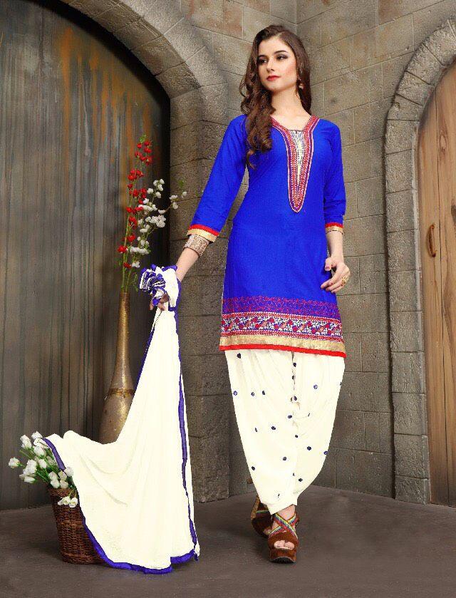 Click On Bazaar Blue Color Patiala Salwar Suit - ClickOnBazar  #onlinepatiala #designerpatialasalwar #patialasalwarsuits #designerpatialasalwar #clickonbazaarpatialasuits