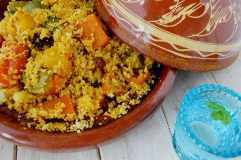 Cous cous di verdure ricetta araba.
