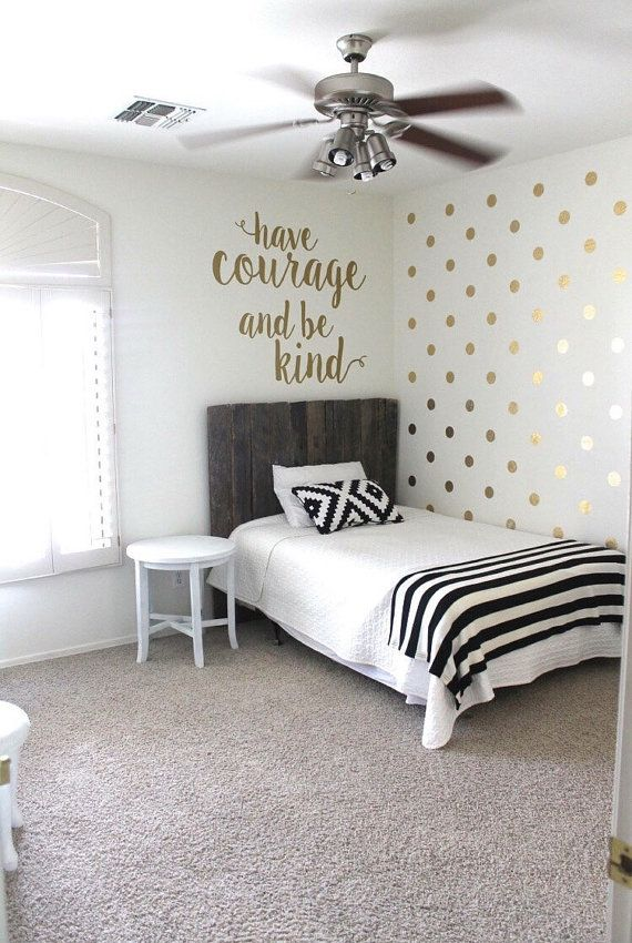 gold polka dot vinyl decals gold polka dot vinyl decals gold polka dot vinyl stickers 0045 - Wall Design Decals