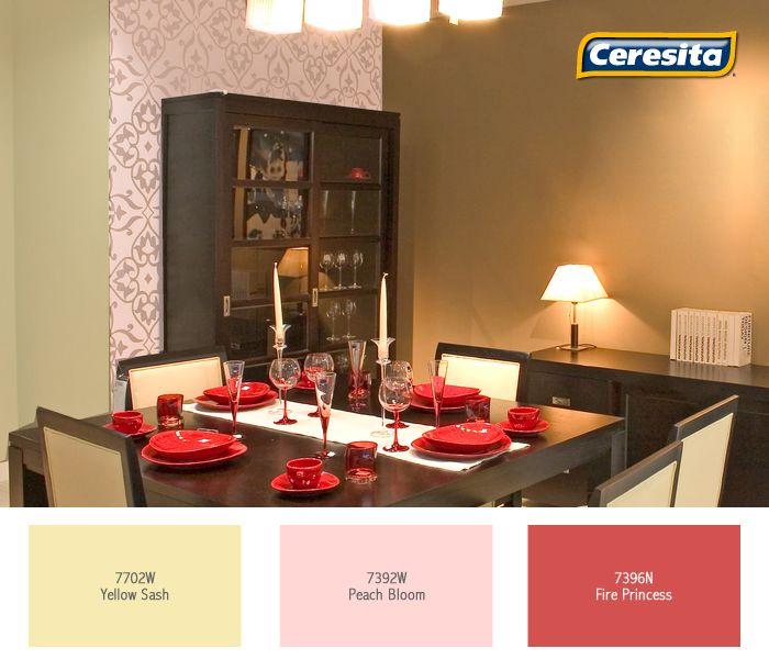 Mejores 85 imgenes de Comedor en Pinterest Codigo de colores
