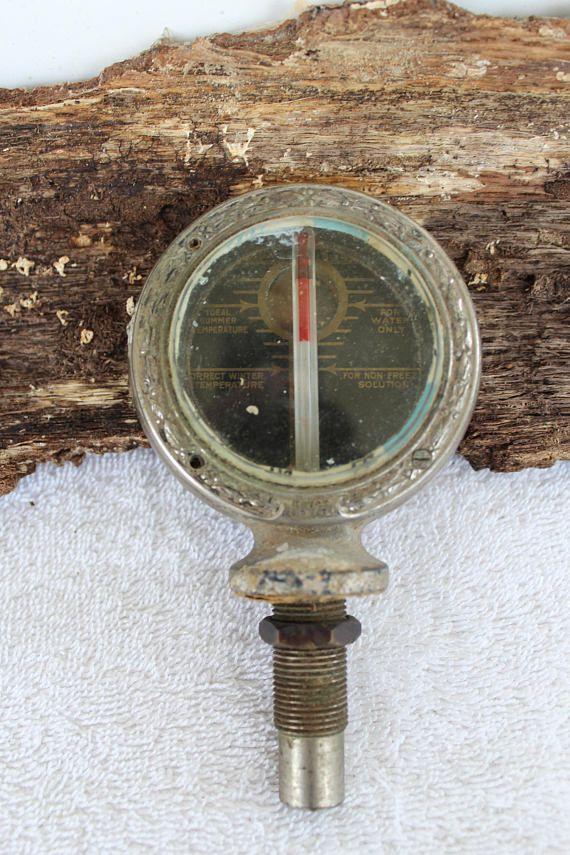 Boyce Motometer, Temperature gauge, Car Radiator Cap, Automotive gauge,  Hood ornament, Universal, Patented Aug-13-18
