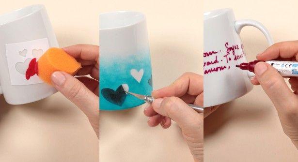 Tasse personnalisée pour la Saint Valentin