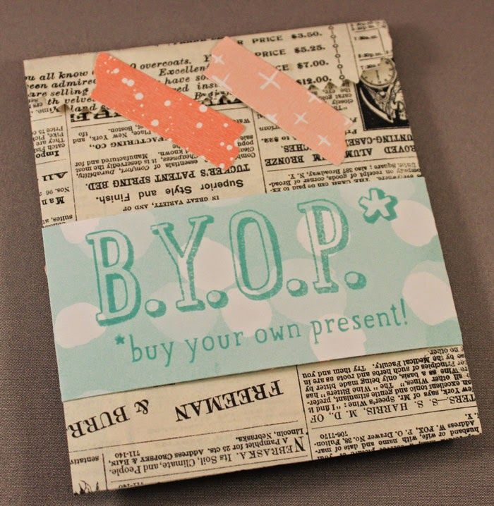 21 best Stampin\' Up! B.Y.O.P. images on Pinterest | Gift card ...