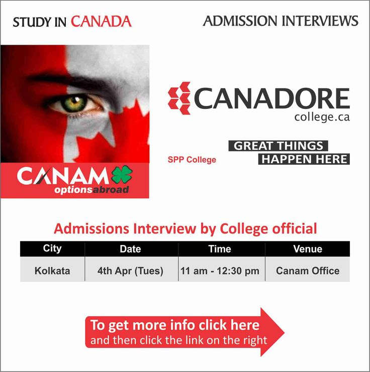 Study in #Canada - Canadore College. For complete information & enrolment, Register Today!  #StudyAbroad #StudyinCanada #StudentVisa #StudyVisa #StudentVisaExpert #CanamConsultants